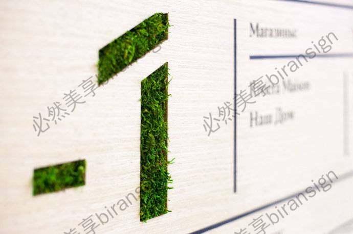 商场绿植标识系统