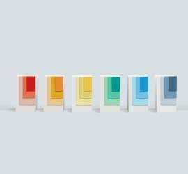 彩色标识牌素材