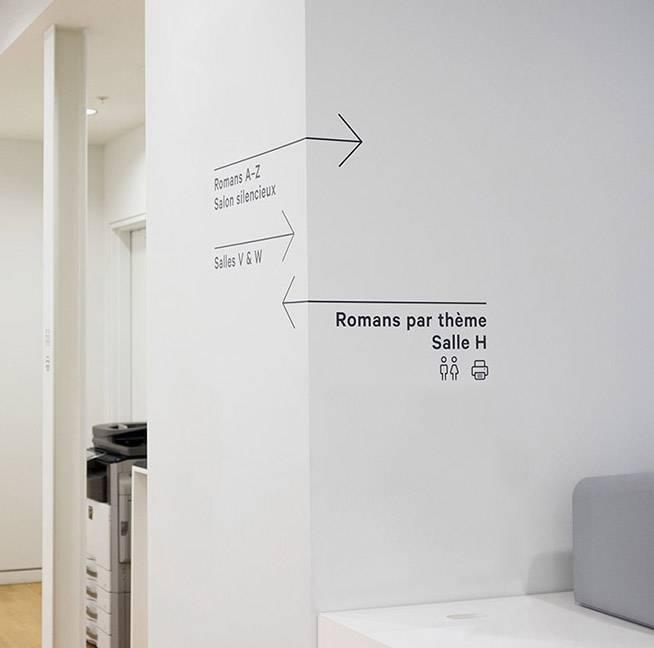 国外图书馆导视系统设计