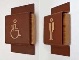 玛格丽特岛卫生间环境指示标识