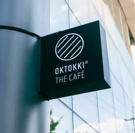 OKTOKKI The Café Branding