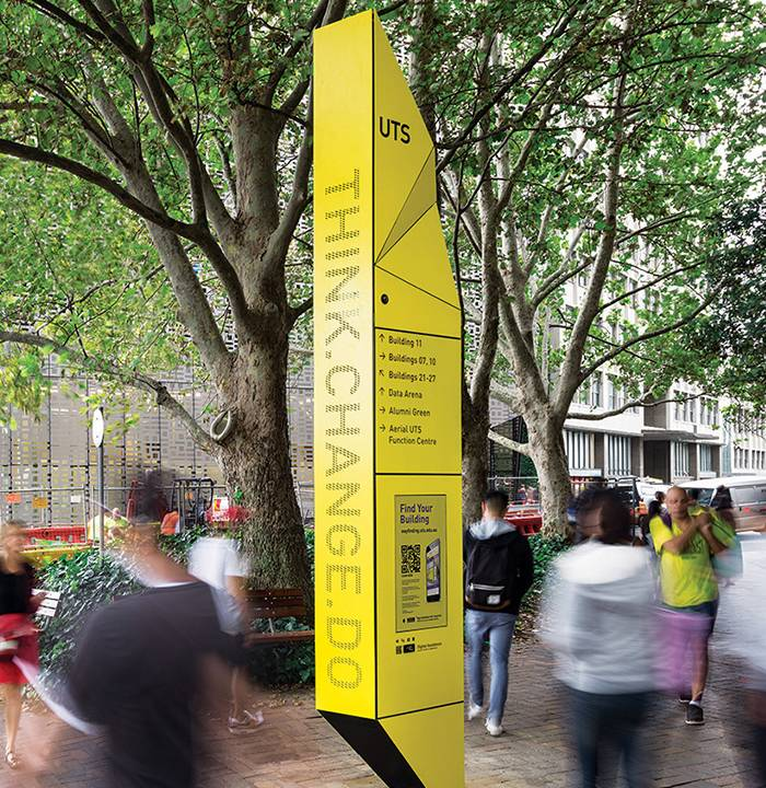 Future Focus for UTS 城市公共空间品牌导视设计