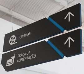 影院导视标识牌