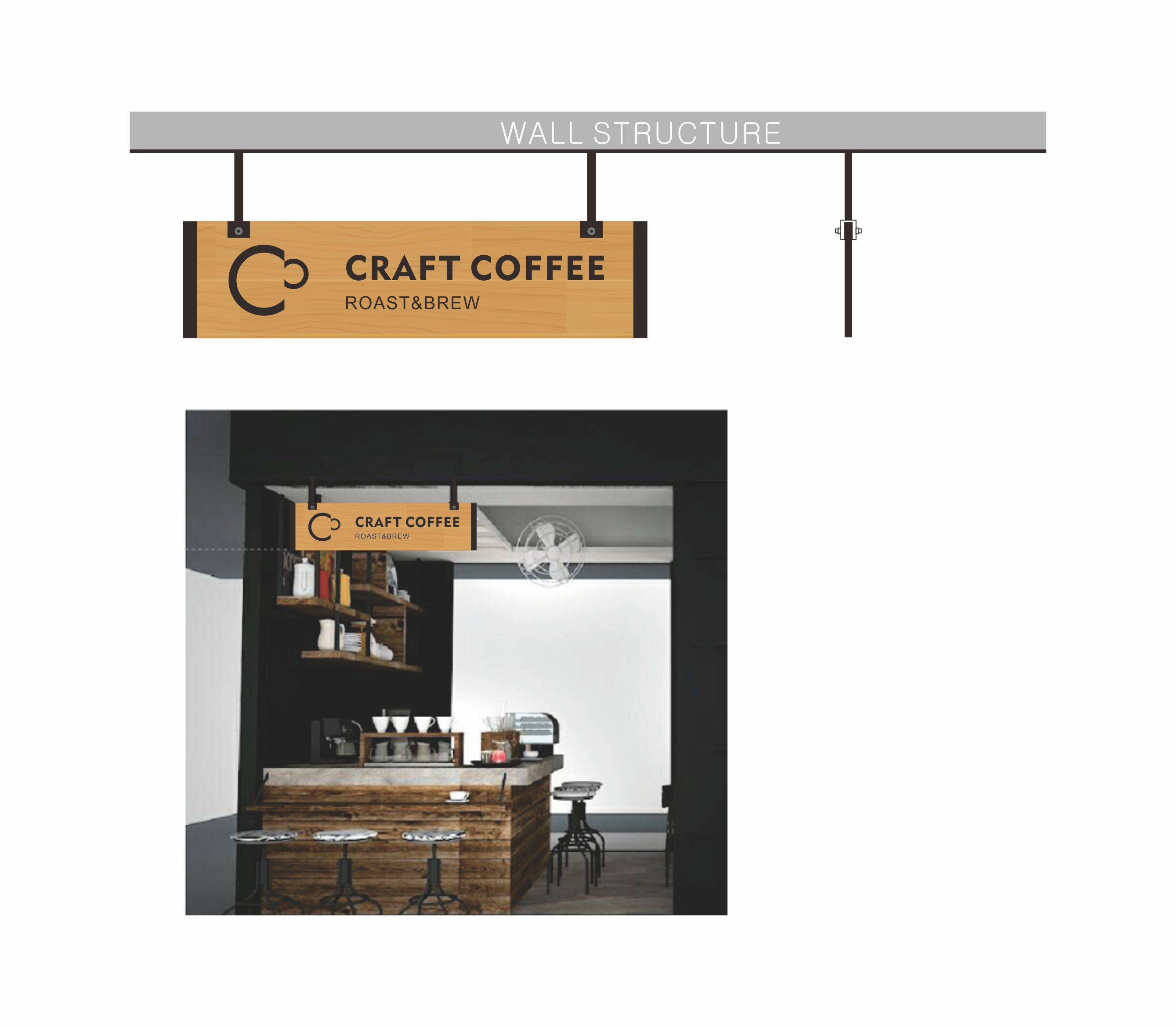 咖啡店吊牌设计