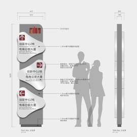 商场写字楼 导视系统 标识系统(附制作工艺)