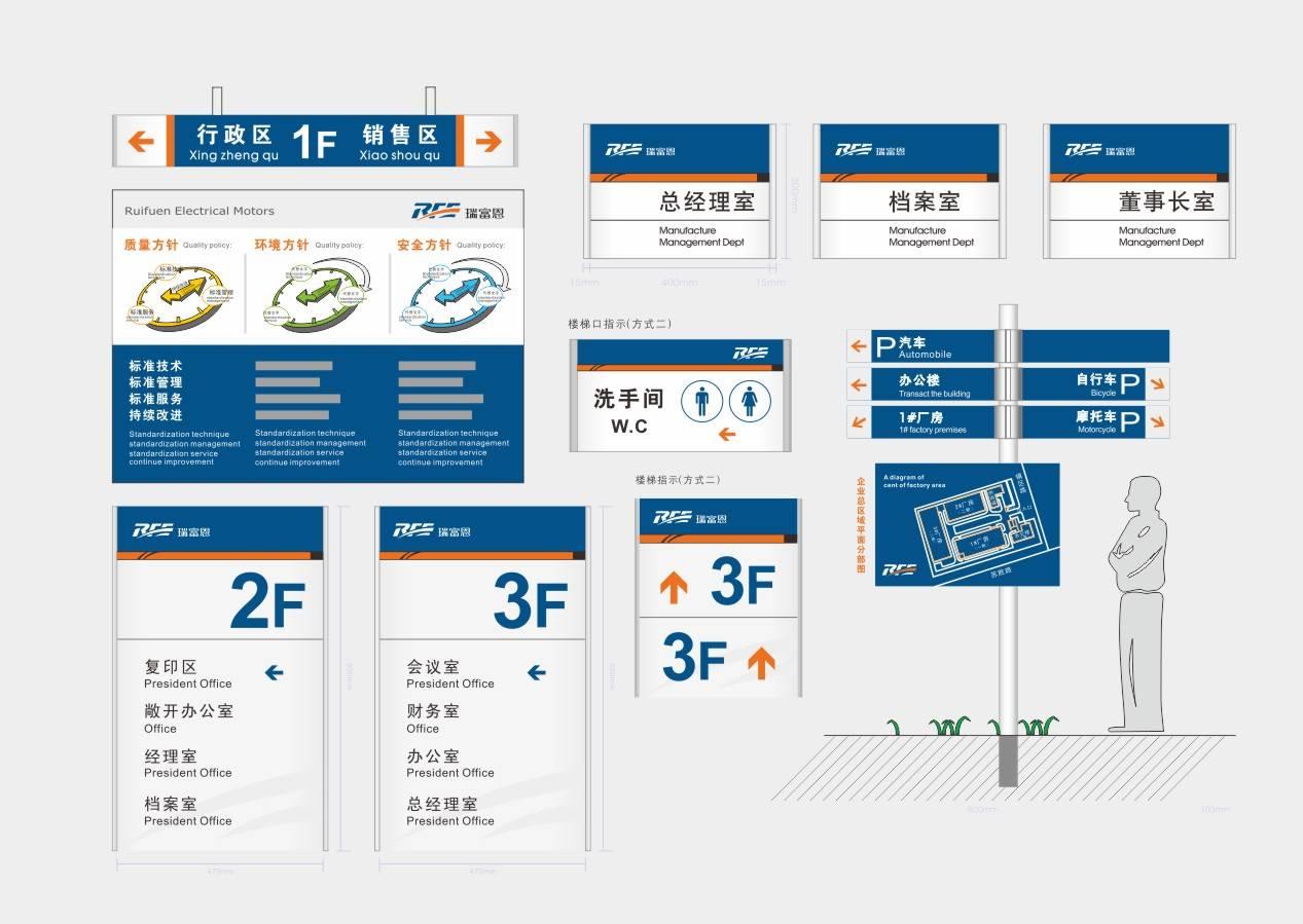 企业导视标识系统
