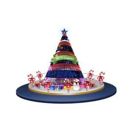 圣诞 美陈 圣诞树 DP点 雪人 设计