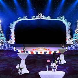 圣诞节 舞台装饰