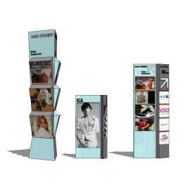 大型商场 精神堡垒 广告标识 广告灯箱 指示牌