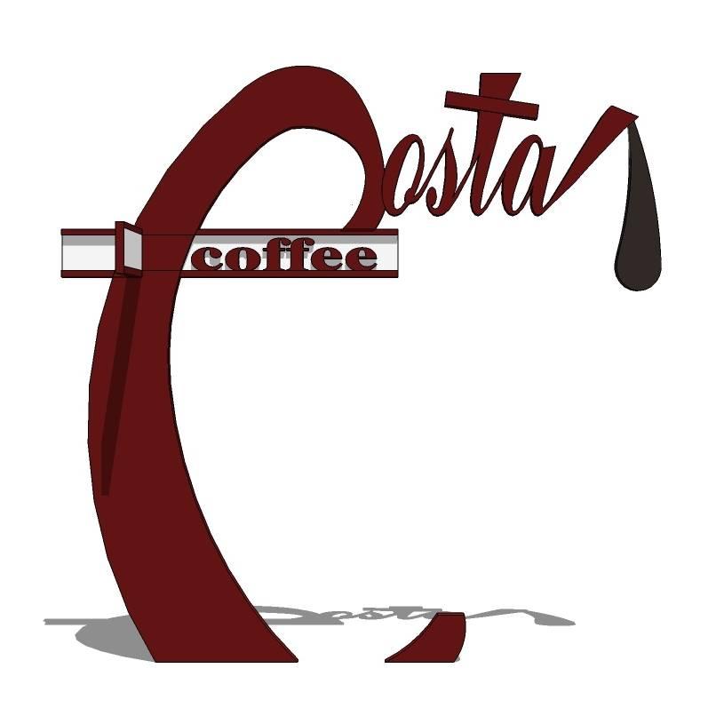 创意 红色 咖啡店立牌 Coffee立牌