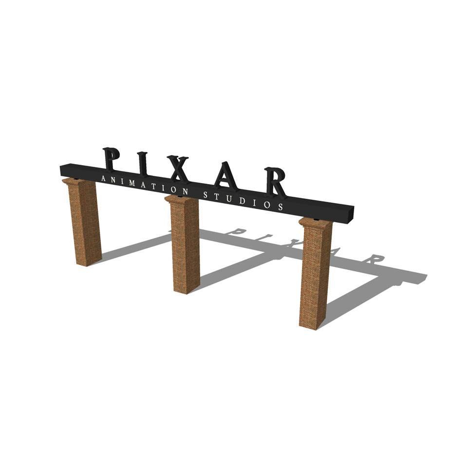 入口模型 景观模型 设计模型 社区大门 建筑模型 室外模型