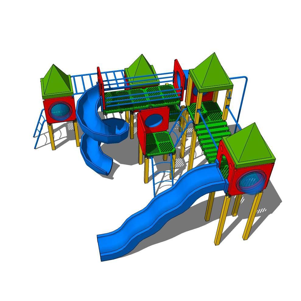 幼儿园 滑梯 儿童 幼儿园设施