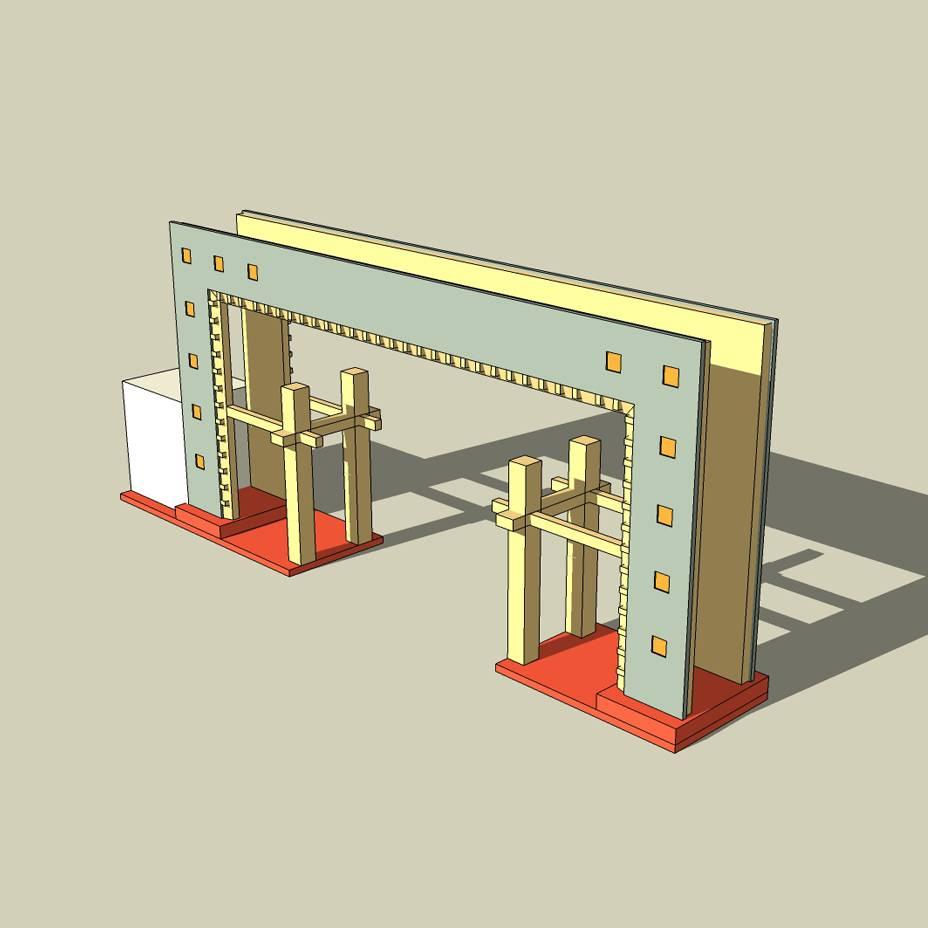 大门入口 景区大门 小区大门 岗亭 大门建筑 大门门头设计