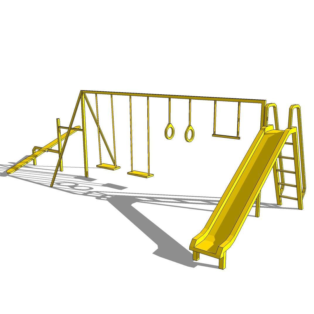 游乐园 公园 幼儿园 秋千 健身项目 跷跷板 滑梯 幼儿园设施