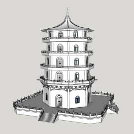 塔 文化 现代