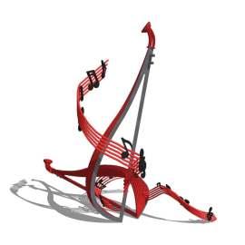 乐器 小品 雕塑 校园文化 古典 美陈 装饰 景观