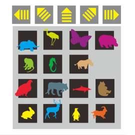 警示 标识 导视 指路 动物园 动物