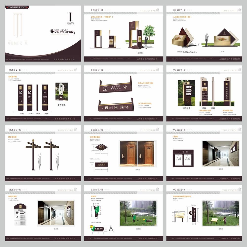 房地产小区导视设计全案