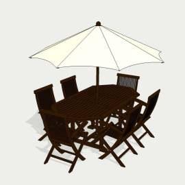 欧式桌椅 桌椅 茶几 休闲座椅   折叠座椅  咖啡吧  餐桌   设计 环境设计  模型  SKP