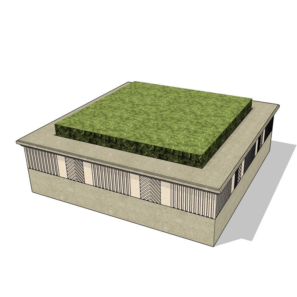 方形树池  花岗岩树池   创意树池  花坛  长椅  广场 公园