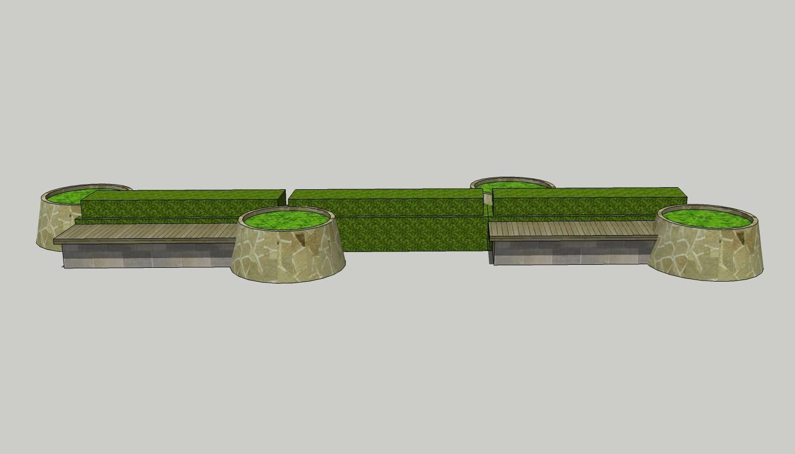 异形树池  麻石  创意树池  欧式树池  花坛  木质长椅