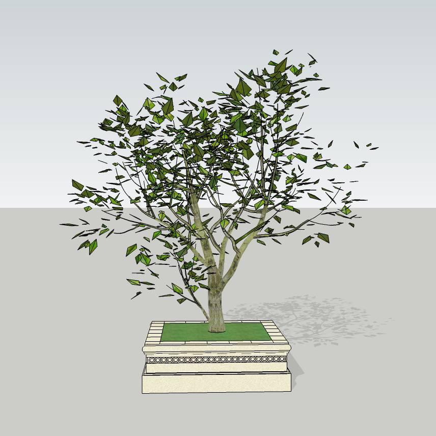 方形树池   花岗岩树池  麻石  创意坐凳  欧式树池  花坛  广场 公园 公共空间  种植池 闲坐 草图大师 模型 景观园林设计  室外模型 SKP