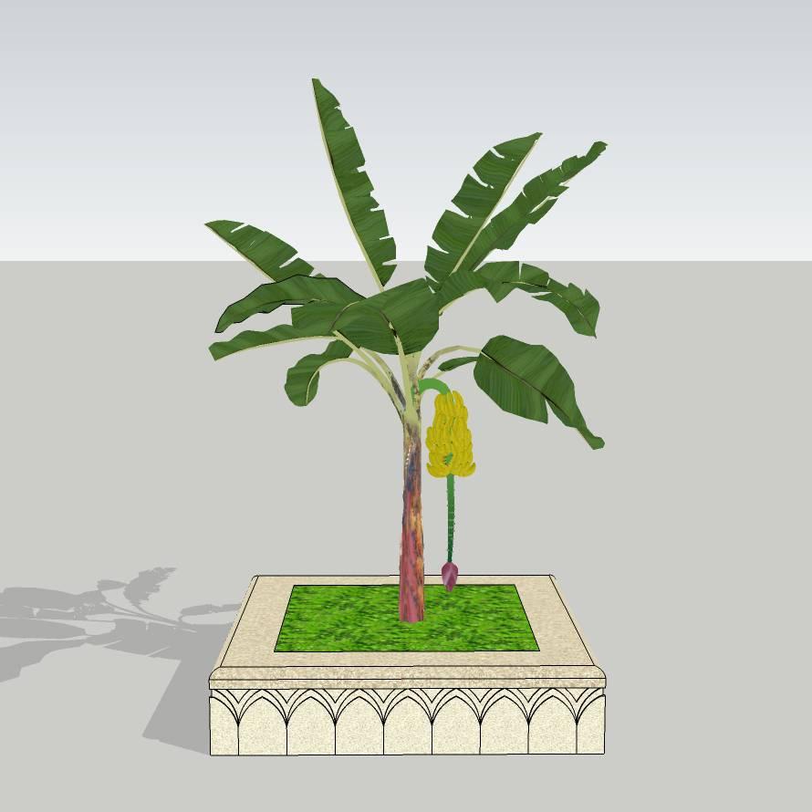 方形树池   花岗岩树池  创意坐凳   长凳  欧式树池   广场 公园 公共空间  种植池休息 闲坐 草图大师 模型 景观园林设计  室外模型 SKP