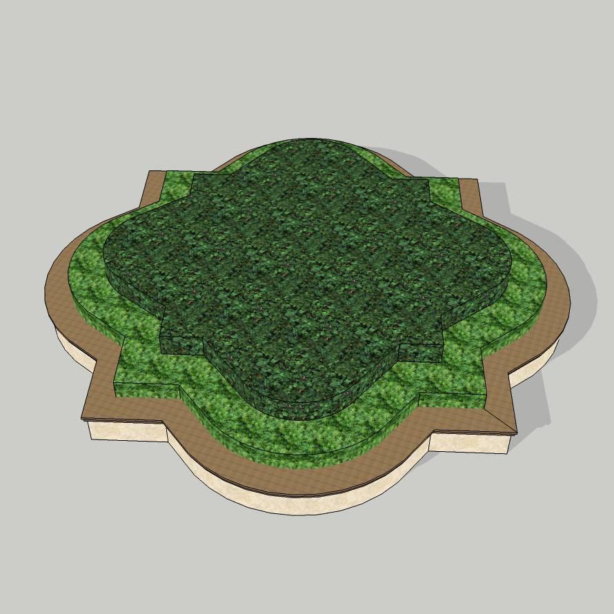 异形树池  方圆树池  方圆拼合  石树池  创意树池  广场 公园 公共空间  种植池  草图大师 模型 景观园林设计  室外模型 SKP