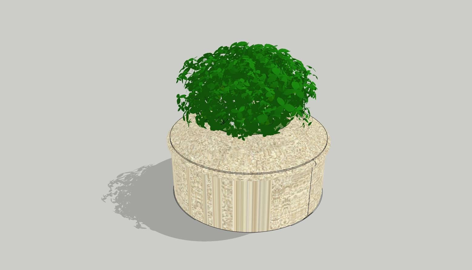 异形树池  石树池  创意树池  广场 公园 公共空间  种植池