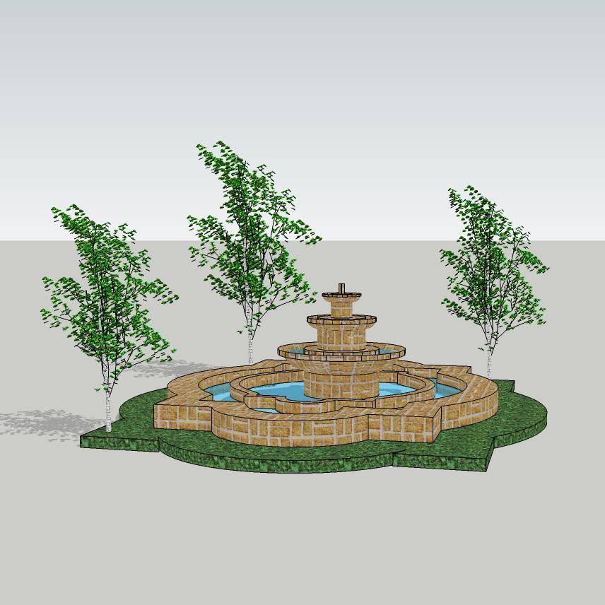 水钵水景  住宅小区 小区水景  居住区水景 欧式水景  异形水景  景观设计 水景鱼池 花园水景