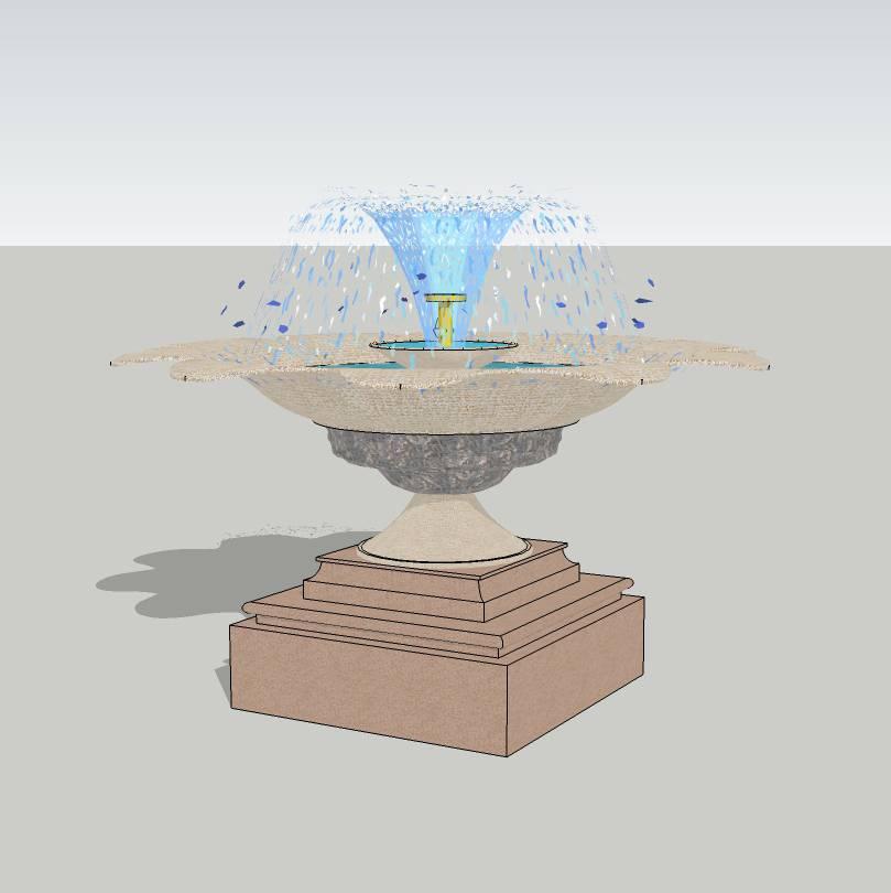 水钵水景  住宅小区 居住区水景  小区水景 喷泉  欧式水景 景观设计  花岗岩水景