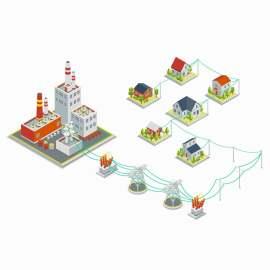 3D 建筑 灌木丛  平房 外立面 城市 景观 设计 草坪 地标 等距