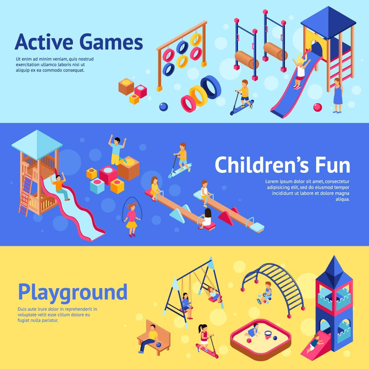 创意儿童幼儿园娱乐设施