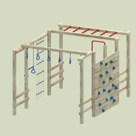 儿童攀爬器材