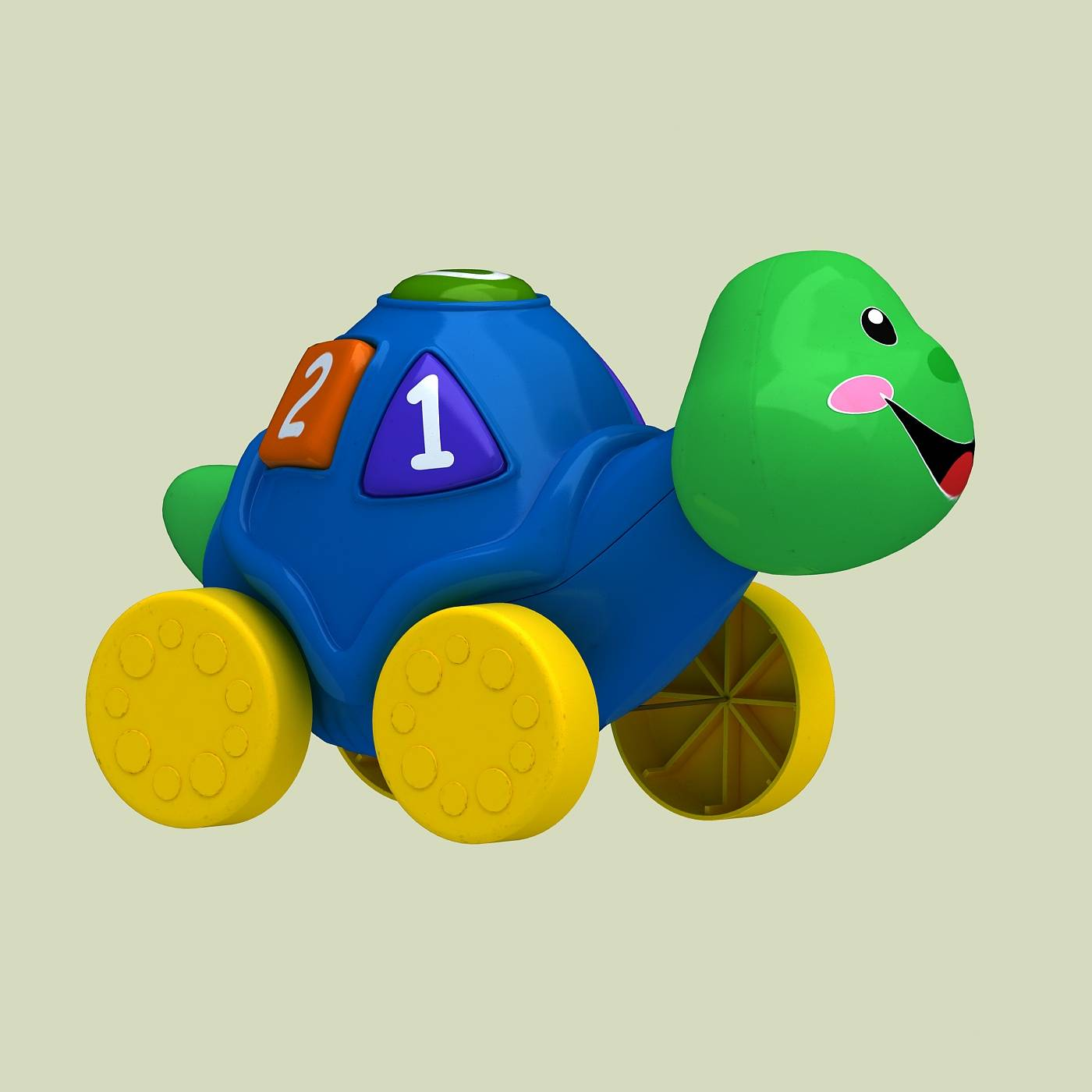 玩具乌龟模型