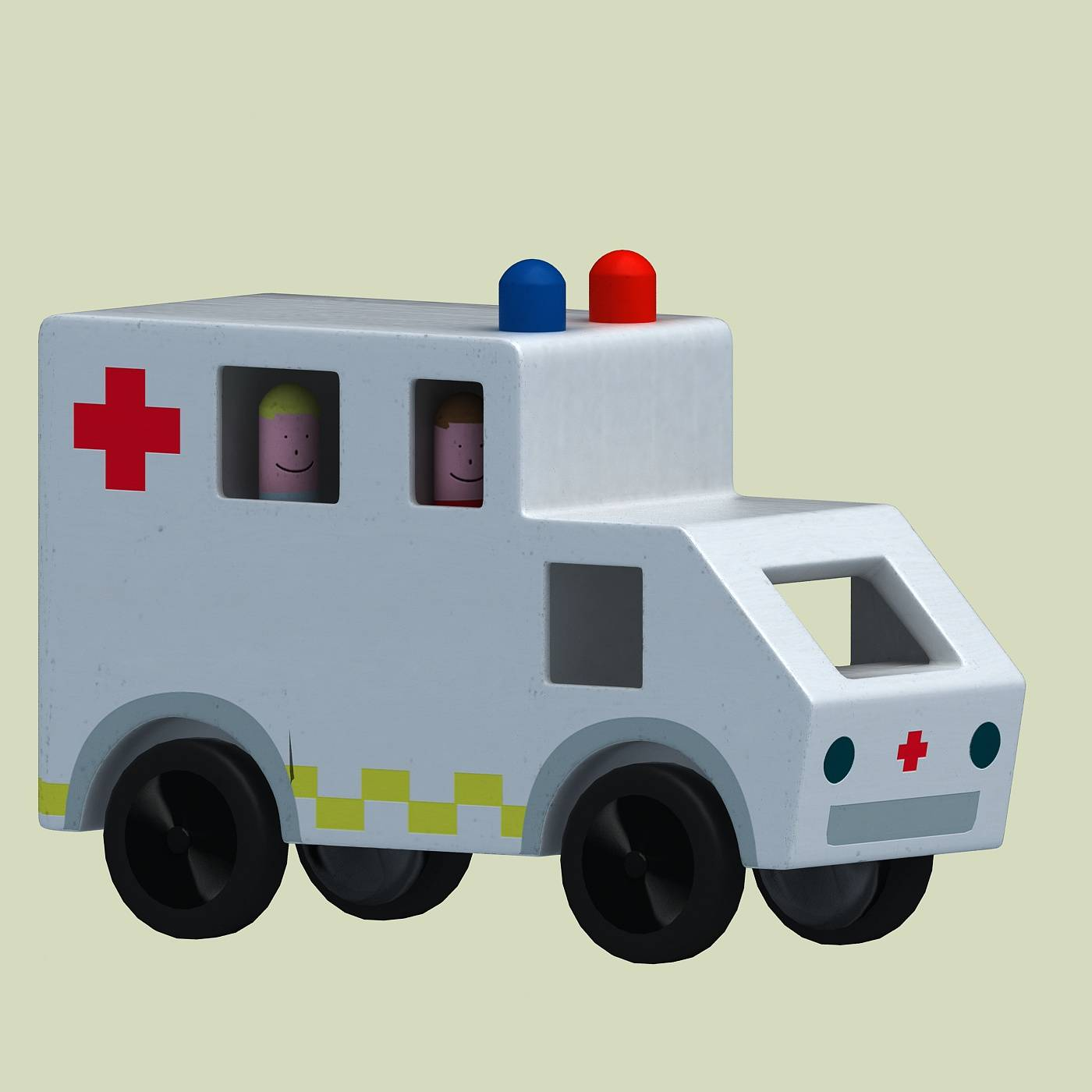 医疗玩具车模型
