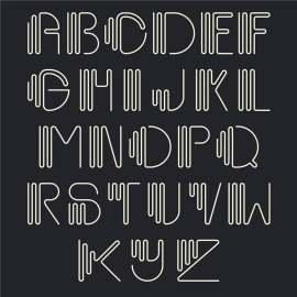 创意字母设计