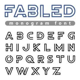 英文字母设计