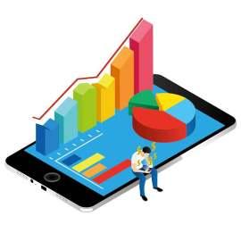手机金融概念插图