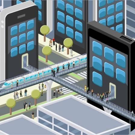 三维城市建筑