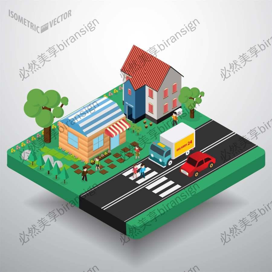 3D等量房屋设计