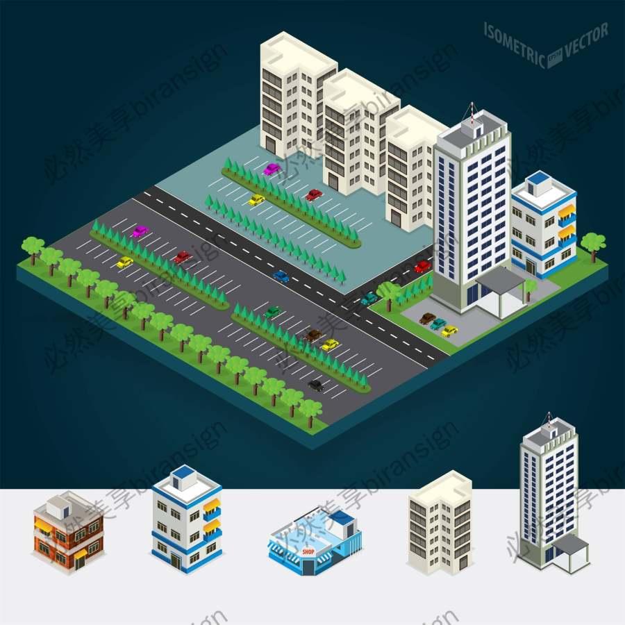 3D等量建筑设计
