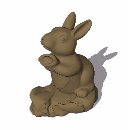 十二生肖 兔 动物 雕塑 美陈