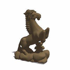 十二生肖 马 动物 雕塑 美陈