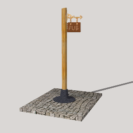 欧式 木质 挂牌