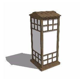 落地灯 灯具 日式 个性