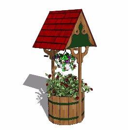 环艺 植物 绿化 房子 小景观