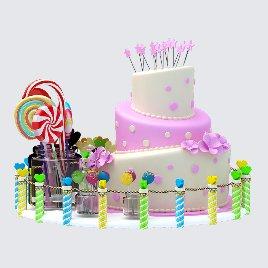 糖果 蛋糕 可爱美陈