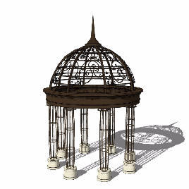 玻璃顶 穹顶 简欧 现代 豪华 个性 特色  酷