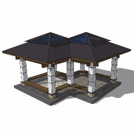 玻璃顶 穹顶 简欧 现代 豪华 个性 特色